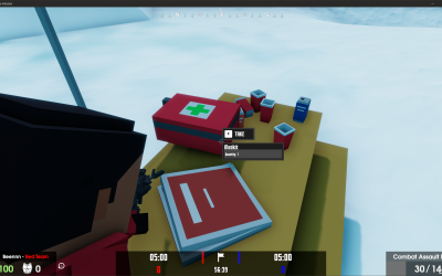 Development Update – New medical kits, a leaderboard and so much more